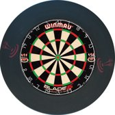 Winmau blade 5 incl. rubberen surround ring zwart en  ABC darts scorebord