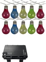 Luxform Feestverlichting - Op batterijen - 10 LED - Multicolor