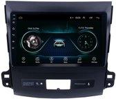 Navigatie radio Mitsubishi Outlander 2006-2014, Android 8.1, Apple Carplay, 9 inch scherm,