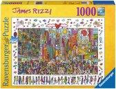 Ravensburger puzzel James Rizzi: Times Square 1000 stukjes