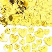 Tafelconfetti goud harten