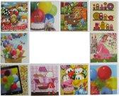 Verjaardagskaarten - Kinderen - Set van 10