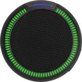 Xqisit Streetparty S Bluetooth Speaker - Zwart LED