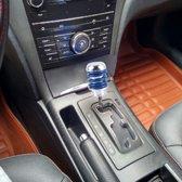 MOMO Universal Shock Absorber Shape Aluminium Handmatige of automatische pookknop met drie rubberen deksels Geschikt voor alle auto's