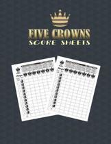Five Crowns Score Sheets