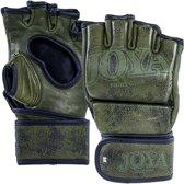 Joya Fight Fast MMA handschoenen Grip leer groen maat M