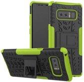 Samsung Galaxy Note 8 Schokbestendige Back Cover Groen