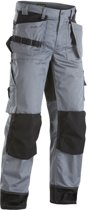Blaklader Werkbroeken met kniestukken Grijs/ZwartNL:62 BE:56