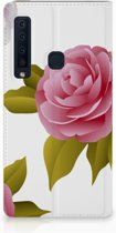 Samsung Galaxy A9 (2018) Uniek Standcase Hoesje Roses