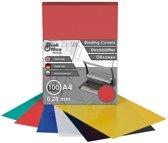 schutbladen ProfiOffice A4 280 micron 100 stuks rood