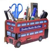 Bureau organizer Londen bus - Bouwpakket - DIY