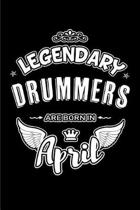 Legendary Drummers Are Born in April