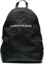 Calvin Klein Monogram Black Rugzak  - Zwart