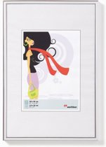 Walther New Lifestyle      18x24 Kunststof zilver KV824S