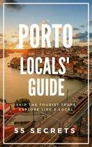 Omslag van 'Porto Locals' Travel Guide : 55 Secrets'