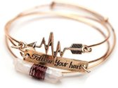 Follow your heart armband - Armbanden - By Cleo