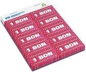Consumptiebonnen Structuur 12.10 • 100% kringloop papier • 2.000 bonnen