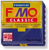 Fimo Classic marineblauw 56GR 8000-34