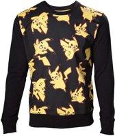 Pokemon - Pikachu All Over Print Sweater - L