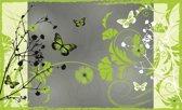 Fotobehang Bloemen   Groen   416x254