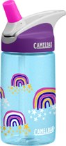 CamelBak Eddy Kids - Drinkfles - 400 ML - Blauw (Glitter Rainbows)