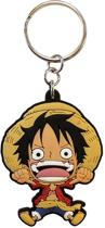 One Piece Sleutelhanger PVC Luffy SD