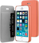BeHello iPhone 5/5S/SE Book Case Coral