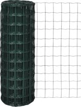 vidaXL Euro gaas 10 x 1,0 m / maaswijdte 76 63 mm