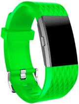 YONO Siliconen bandje - Fitbit Charge 2 - Groen