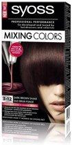 SYOSS Mixing Colors 3-12 Dark Brown Shake - 1 stuk