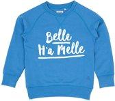 BELLE H'A MELLE BLAUW KIDS SWEATER