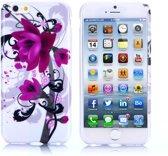 Gel print hoesje iPhone 6 Plus Lily