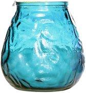 Cosy&Trendy - Lowboy kaarsen turquoise/blauw 40U (6 stuks)