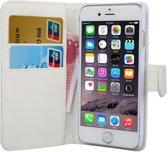 iPhone 7 / 8 wallet case hoesje - wit