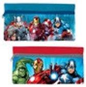 Rode-Blauwe Marvel Avengers Team Etui