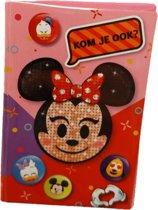 Interstat - Uitnodigingskaarten - Emoji Minnie Mouse - 6st.