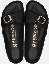 Birkenstock Madrid Black Slippers - Dames