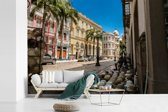Fotobehang vinyl - De oude stad van de Braziliaanse stad Recife breedte 540 cm x hoogte 360 cm - Foto print op behang (in 7 formaten beschikbaar)