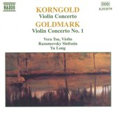 Korngold, Goldmark: Violin Concertos / Vera Tsu, Yu Long
