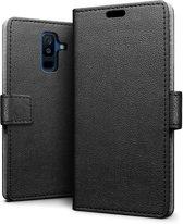 Samsung Galaxy A6 (2018) hoesje - Book Wallet Case - zwart