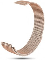 123Watches.nl Fitbit charge 3 milanese band - rose goud - SM
