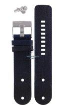 Horloge Band Diesel DZ2018 blauwe leren riem 26mm origineel DZ-2018