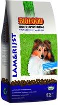 Biofood Hondenvoer - Lam & Rijst - 12.5 kg