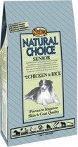 Nutro Choice Senior - Kip & Rijst - Hondenvoer - 2 kg