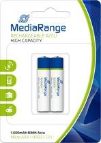 MediaRange MRBAT122 huishoudelijke batterij Rechargeable battery Nikkel-Metaalhydride (NiMH)