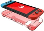 Shop4 - Nintendo Switch - Harde Bescherm Case Rood