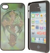 iPhone 4 Hard Case Hoesje - Celtic Dragon
