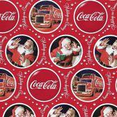 Coca-Cola - Luxe Kerstpapier - Inpakpapier - Cadeaupapier - 5 rollen