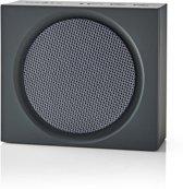 Nedis SPBT2000GY draagbare luidspreker 3 W Draadloze stereoluidspreker Zwart