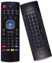 MX3 Air mouse / Flymouse met mini toetsenbord - Ideaal voor bij de Android TV Box, Mediaspeler of PC